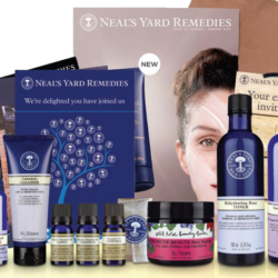 Shop & Donate at The Same time with Neals Yard Remedies