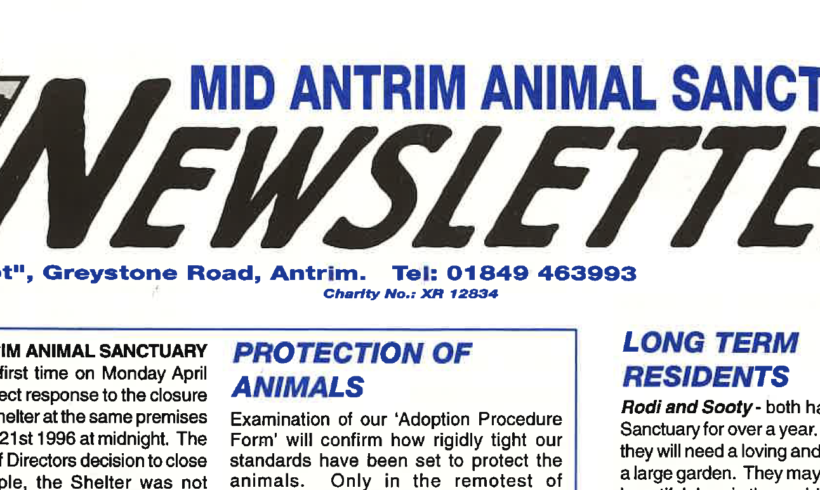 Days Gone By at Mid Antrim Animal Sanctuary